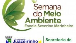 PREFEITURA DE JUAZEIRINHO E SECRETARIA DE EDUCAÇÃO LANÇA CAMPANHA NA SEMANA DO MEIO AMBIENTE